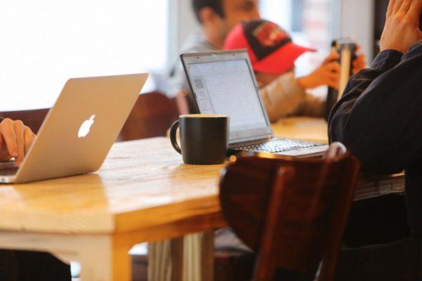 notebooks, cafe, blog